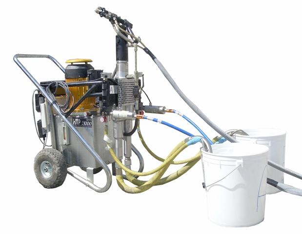 pompa aplicat poliuretan, epoxi, poliureea