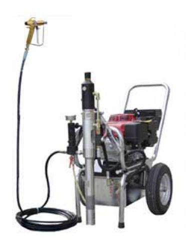 Airless pump – HTP 21000 gas engine